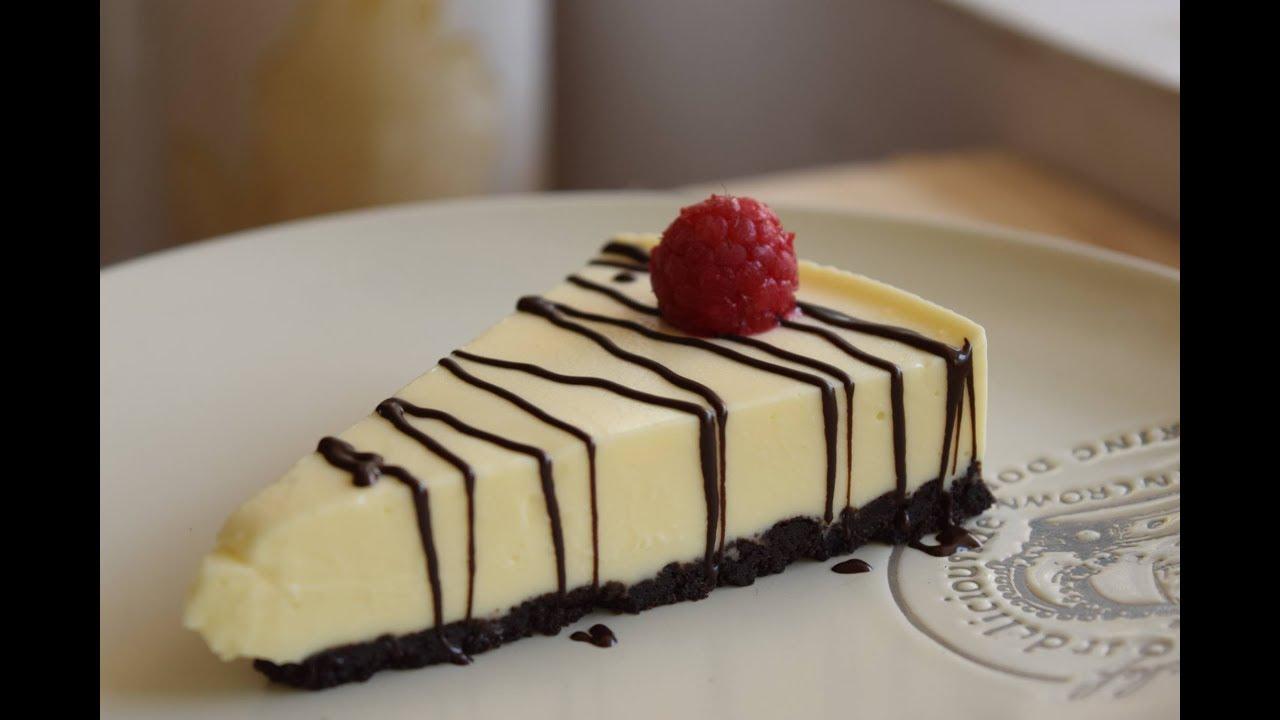 Làm bánh ngọt cheesecake (không lò nướng)