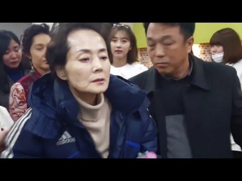 [풀영상] 故김영애 마지막 촬영현장...드라마
