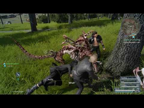 FINAL FANTASY XV PC 4K GAMEPLAY | Final Fantasy PC Gamescom 2017