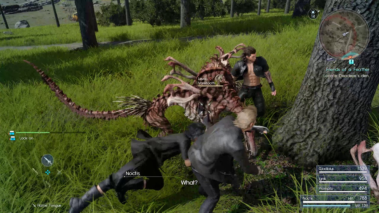 FINAL FANTASY XV PC 4K GAMEPLAY | Final Fantasy PC Gamescom 2017 ...