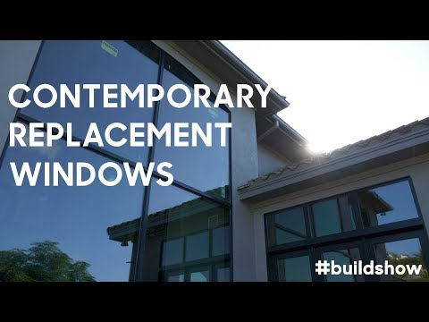 Contemporary Replacement Windows. You WON'T BELIEVE the difference they make!