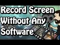 Record Screen & Upload to Youtube Without Using any Software