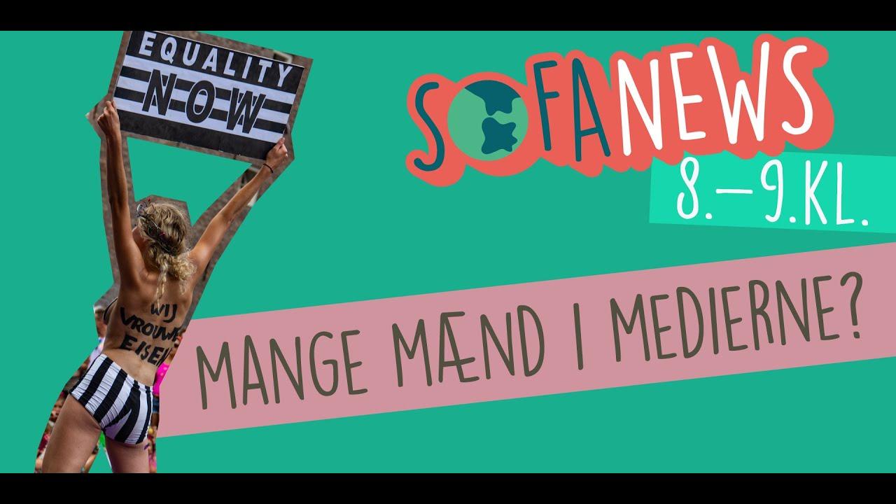 2. april / Mange mænd i medierne - Sofanews for 8.-9. klasse / Sofaskolen
