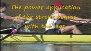 basic rowing stroke