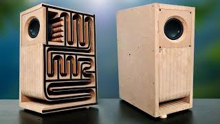 MDF Wood Subwoofer Bluetooth Speaker  Powerful Bass