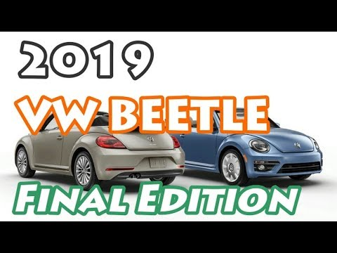 [HOT NEWS] 2019 VW Beetle Final Edition | Watch Now