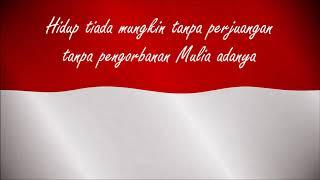 Indonesia jaya Karaoke dan lirik