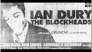 Ian Dury & The Blockhead- Inbetweenies - Shepherds Bush 95