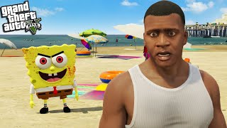 SPONGEBOB is BACK but he is DIFFERENT in GTA 5