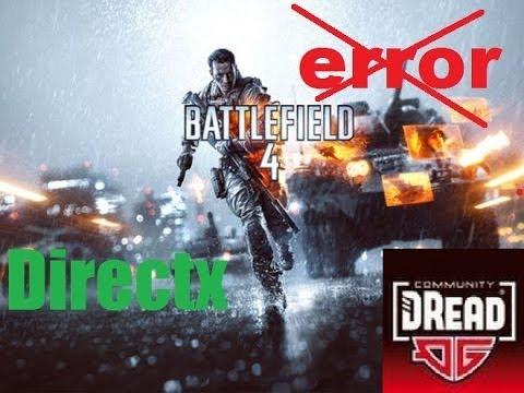 Скачать Directx для игры Battlefield 4