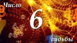 Число Судьбы - 6