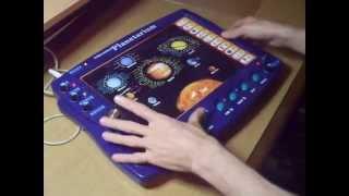 Circuit Bent Interactive Planetarium