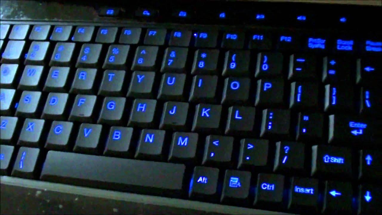 Keyboard Light Laptop