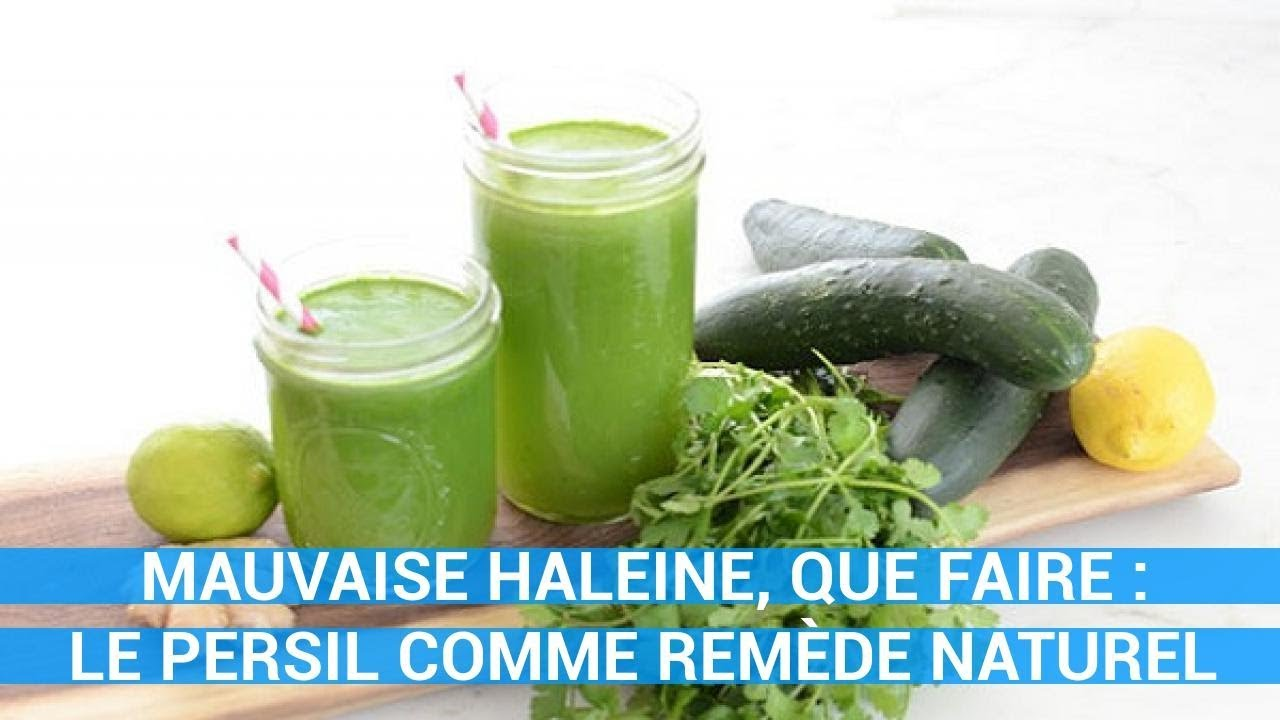 remede naturel mauvaise haleine estomac