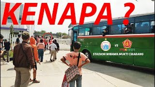 Download Video VLOG Persija vs Ps Tira , Stadion Wibawa Mukti Cikarang MP3 3GP MP4