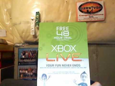 XBOX LIVE TRIAL CODE GIVEAWAY