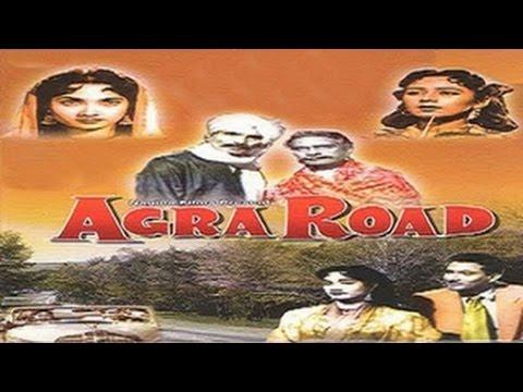 Agra Road (1957) | Hindi Full Movie | Classic Hindi Movies | Vijay Anand Movies