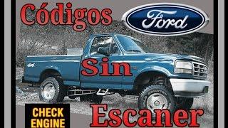 Códigos sin escaner Ford Obd1(, 2015-07-26T14:00:00.000Z)