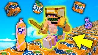 CORSA con i LUCKYBLOCK FANTA - Minecraft ITA