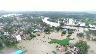 Arial view of Kushalnagar | coorg flood | latest 2018