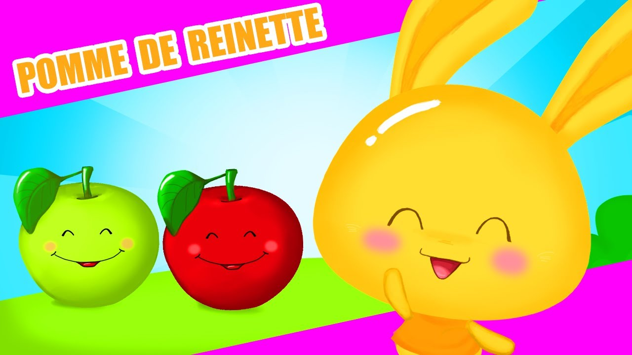NEW! 🍎Red apples, yes, yes yes! | Pomme de Reinette in Spanish | Titounis