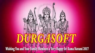 DURGASOFT Wishing You and Your Family Members a Very Happy Sri Rama Navami 2017!!!