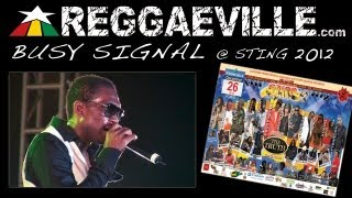 Busy Signal @Sting 12/26/2012