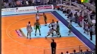 1996 G5 Teamsystem Fortitudo Bologna vs Benetton Treviso (3/4)