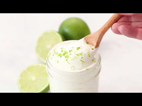 Lime Crema (ready In 5 Min & Perfect For Tacos!)