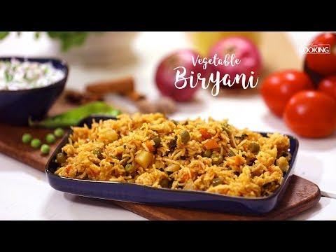 Veg Biryani In Pressure Cooker |  Veg Biryani Recipe