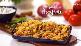 Pressure Cooker Vegetable Biryani