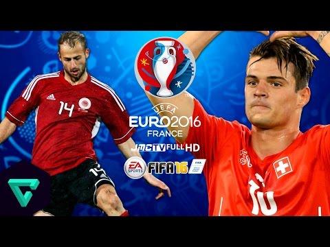 Albania vs. Switzerland | UEFA Euro 2016 Simulation | FIFA 16