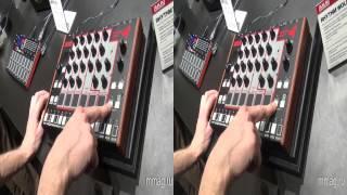 mmag ru: Musikmesse 2014 - Akai Rhythm Wolf 3d видео