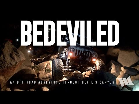 BEDEVILED : An Off-Road Adventure Through Devil's Canyon Jeep Trail (Near Anza-Borrego & San Diego)