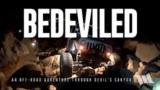 Jeep Wrangler Off Road on Devil's Canyon Jeep Trail near Anza-Borrego & San Diego : BEDEVILED
