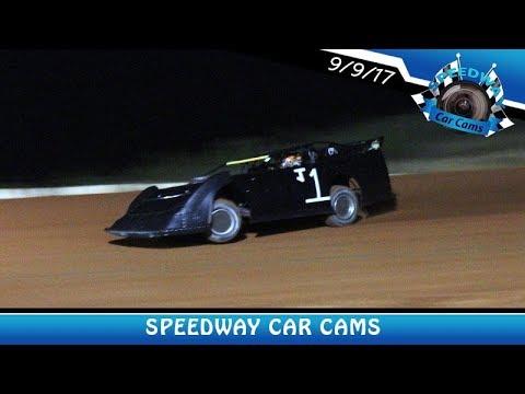#J1 Josh Johnson - Super Late Model - 9-9-17 Fort Payne Motor Speedway - In Car Camera