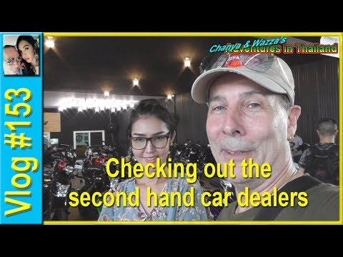 Vlog 153 - Checking out the second hand car dealers