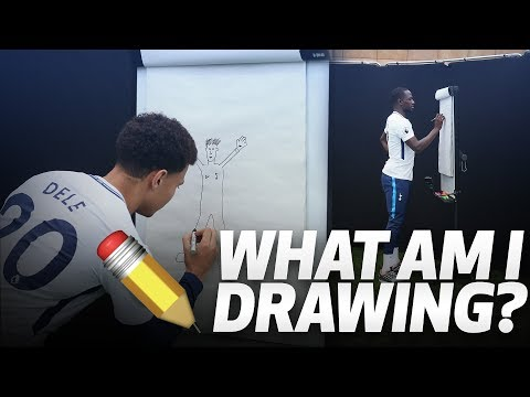 ✏️ WHAT AM I DRAWING? | ft. DELE ALLI, SERGE AURIER, MOUSSA SISSOKO AND JUAN FOYTH