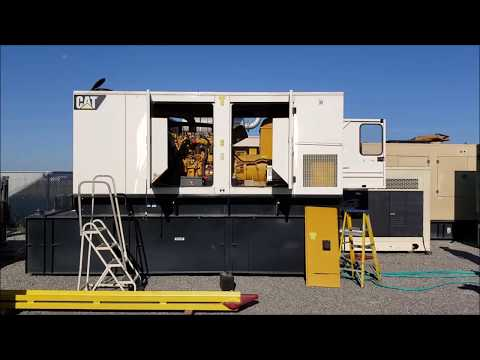 250 kW Caterpillar Diesel Generator | Critical Power