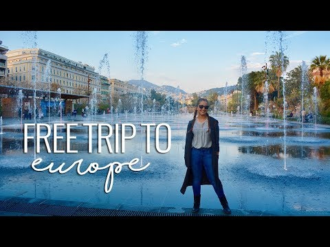 Travel Vlog | Free Trip to Europe (Italy, France, Spain)