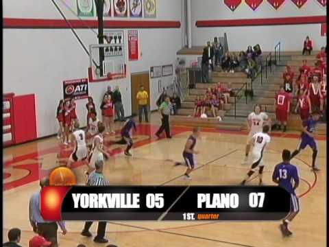 High School BoysBasketball Yorkville, IL vs Plano, IL 2016