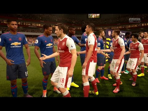 FIFA 17   Arsenal vs Manchester United - Full Gameplay (PS4/Xbox One)