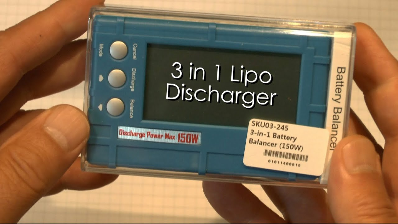 Inexpensive lipo discharger that works youtube solutioingenieria Choice Image