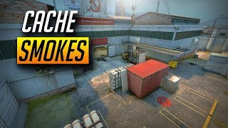 CSGO - MUST KNOW CACHE SMOKES (2018)