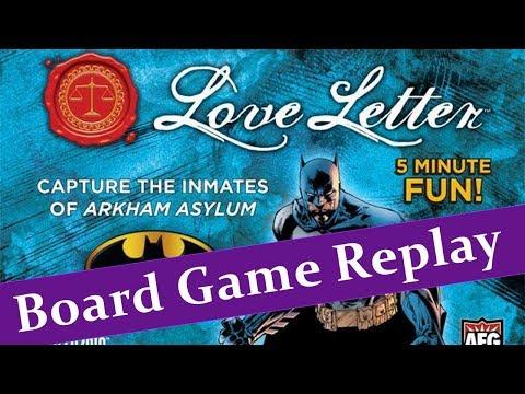 Love Letter: Batman | Board Game | BoardGameGeek
