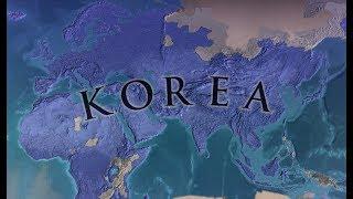 [EU4] Korean World Conquest Timelapse (1.21)