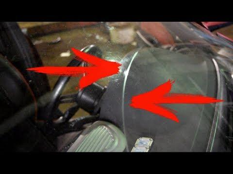 Полировка царапин на стекле автомобиля своими руками