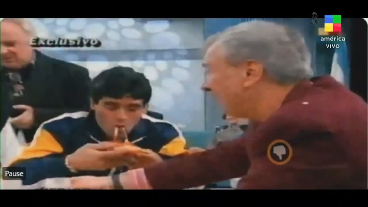 El día que Diego Maradona apareció en el programa de Mauro Viale