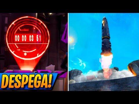 🔴**VIENDO DESPEGAR el MISIL** TEMPORADA 5! + SORTEO DE SKIN! FORTNITE: Battle Royale