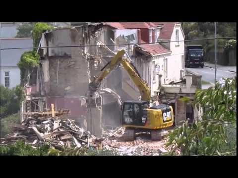 St Margarets Hotel, Carbis Bay, St Ives DEMOLITION Video